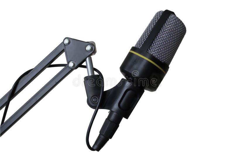 Studio Microphone royalty free stock photo
