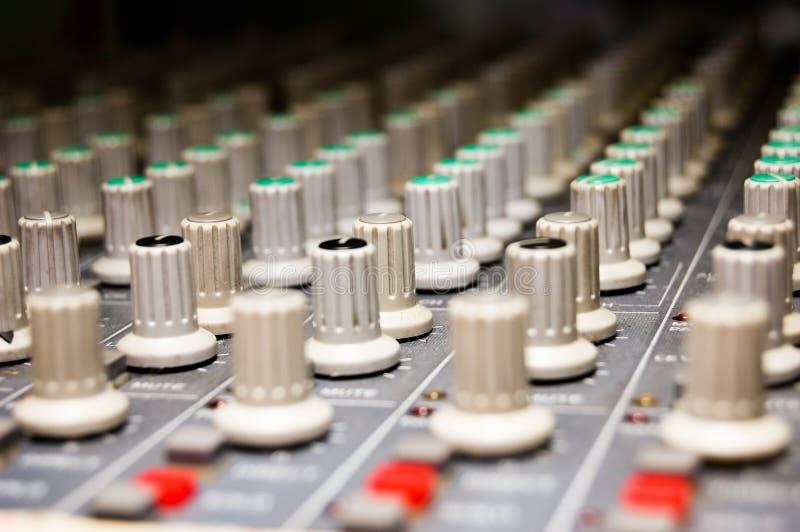 Studio Mixer stock images