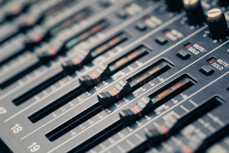 Download Studio mixer stock photo. Image of industry, engineer - 26133492
