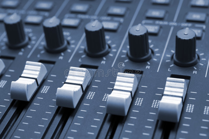 Download Studio Mixing Desk Royalty Free Stock Photography - Image: 2321437
