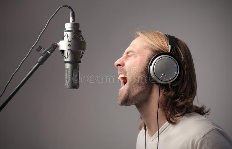 studio nagrań zdjęcie stock