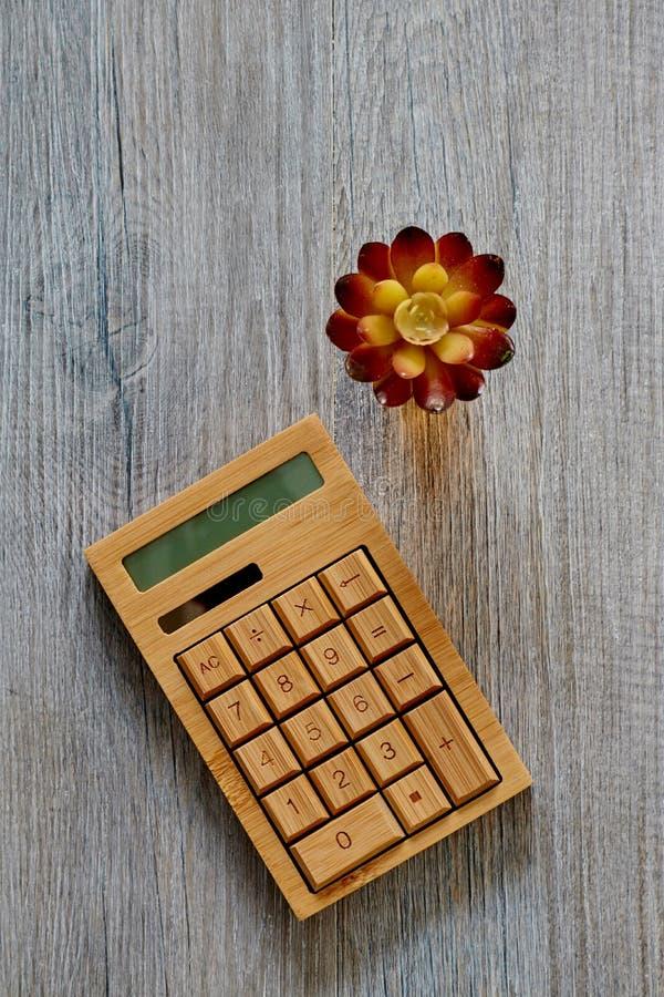 Business Calculator stock image