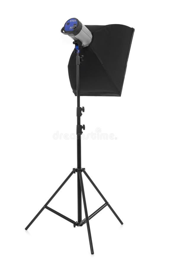 Studio photo light stock photo