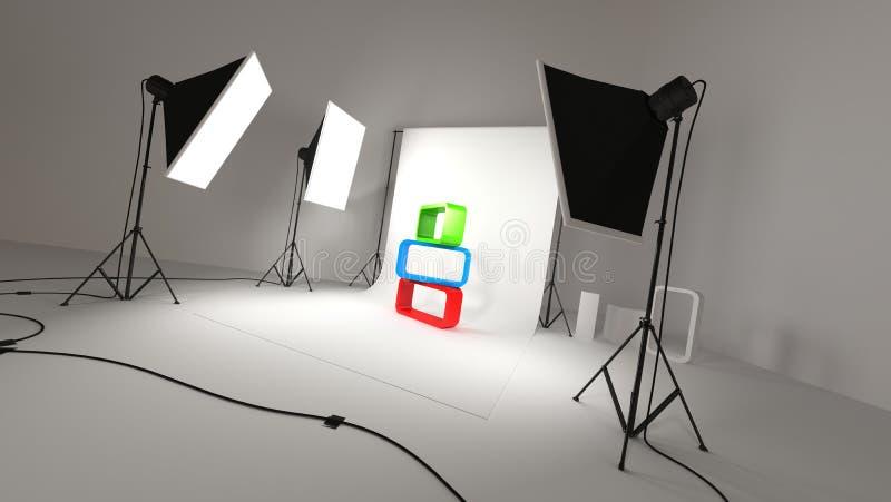 Studio photographique illustration libre de droits