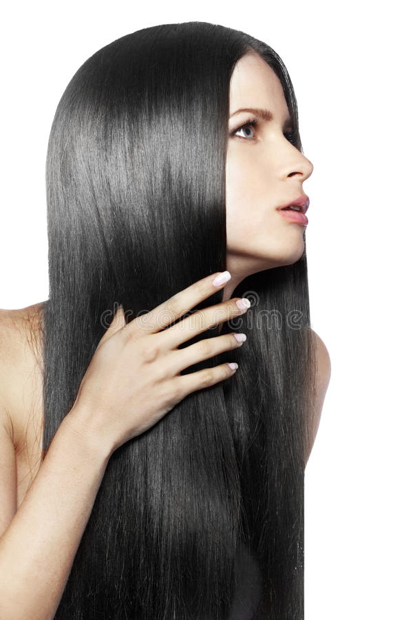 Download Strong healthy hair stock image. Image of fashion, isolated - 29812387