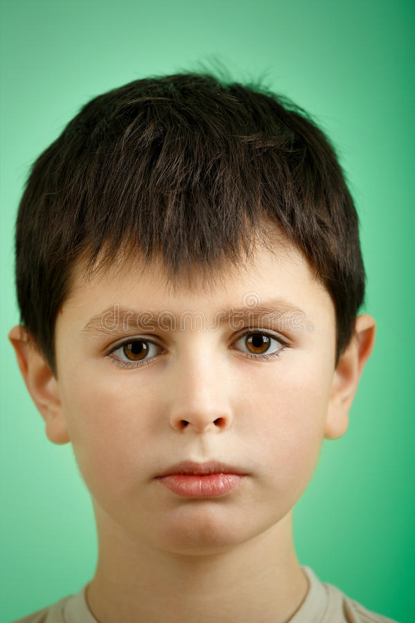 Free Studio Portrait Of Young Boy Royalty Free Stock Photos - 37602378