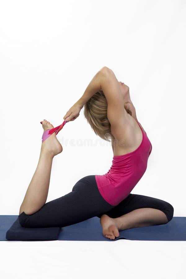 Studio Portrait Of Power Yoga Stock Photo Image Of Ashtanga Woman 35144338
