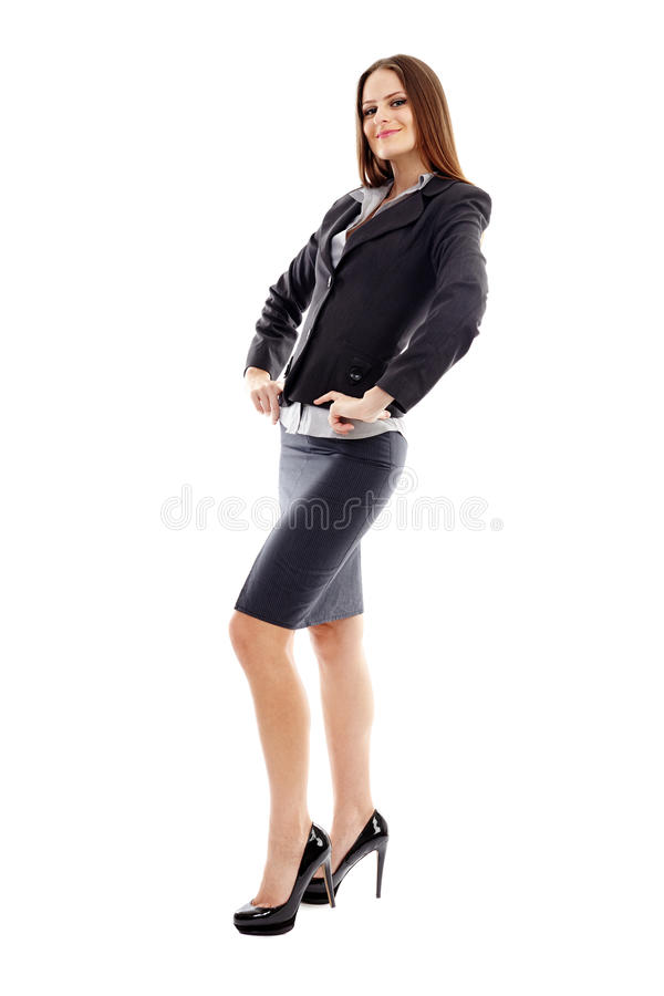 Download Studio Portrait Of Smiling Businesswoman Stock Photo - Image: 37275568