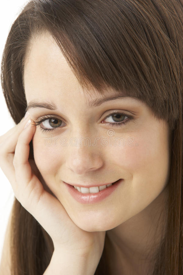 Download Studio Portrait Of Teenage Girl Stock Photo - Image: 11501572