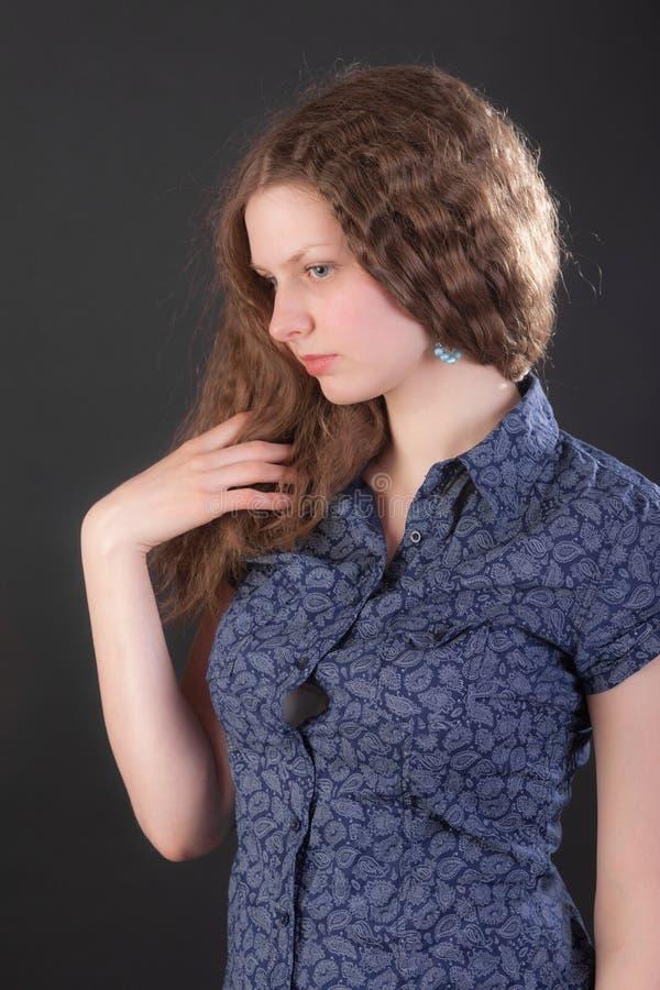 Portrait of a girl stock photos