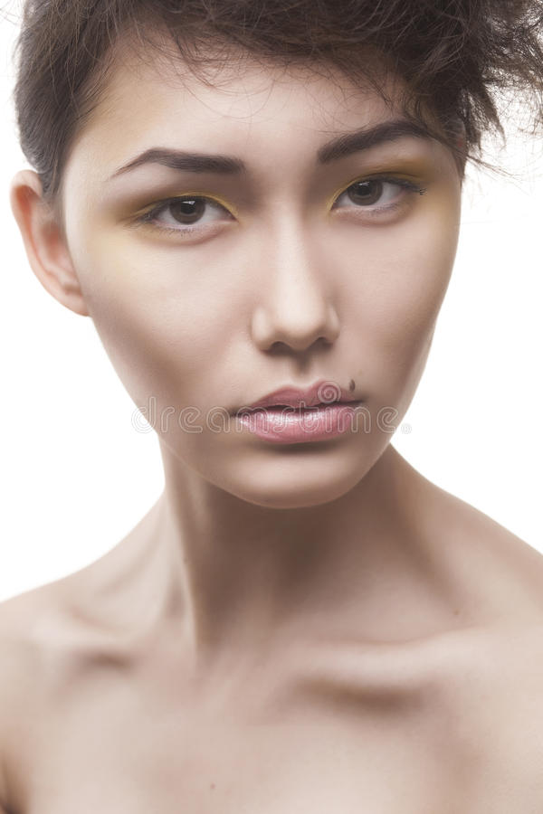 Download Beauty Woman With Stylish Makeup Stock Image - Image: 29882807