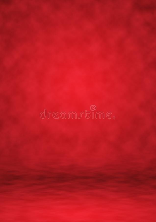 Studio rosso del fondo del contesto, fondo astratto immagini stock libere da diritti