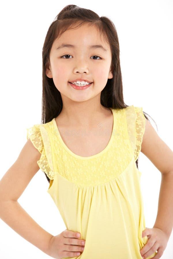 Download Studio Shot Of Chinese Girl Stock Image - Image: 26099343
