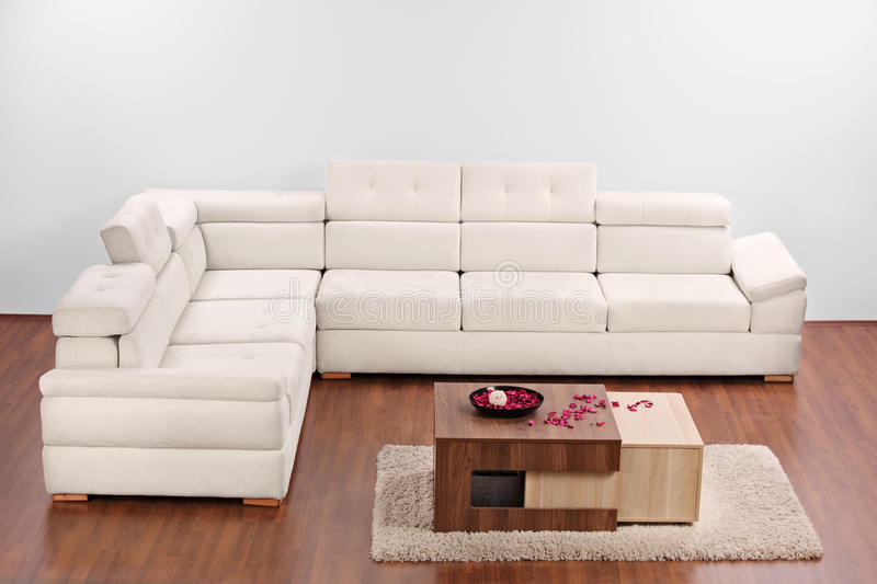 A studio shot of a living room with furniture stock images