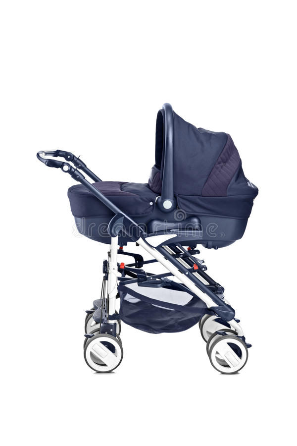 Download A Studio Shot Of A Modern Baby Stroller Stock Photo - Image: 22459558