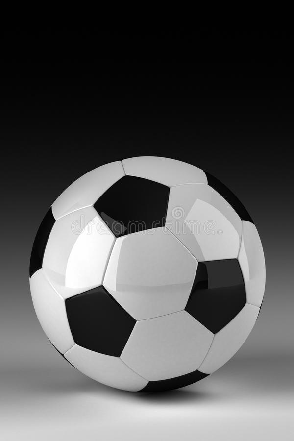 Download Studio shot of soccer ball stock illustration. Image of design - 21019700