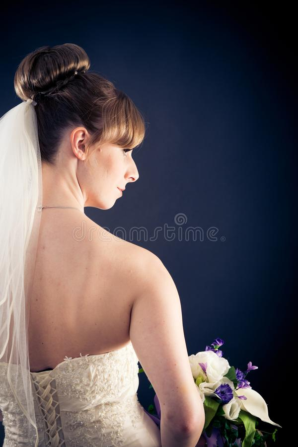 Beautiful Bride`s Portrait royalty free stock photography