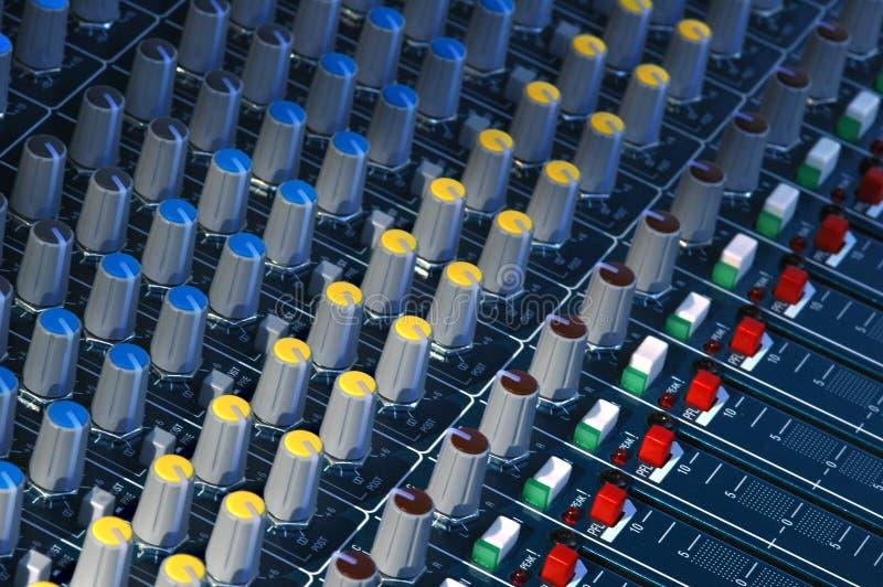 Studio Soundboard Stock Photo