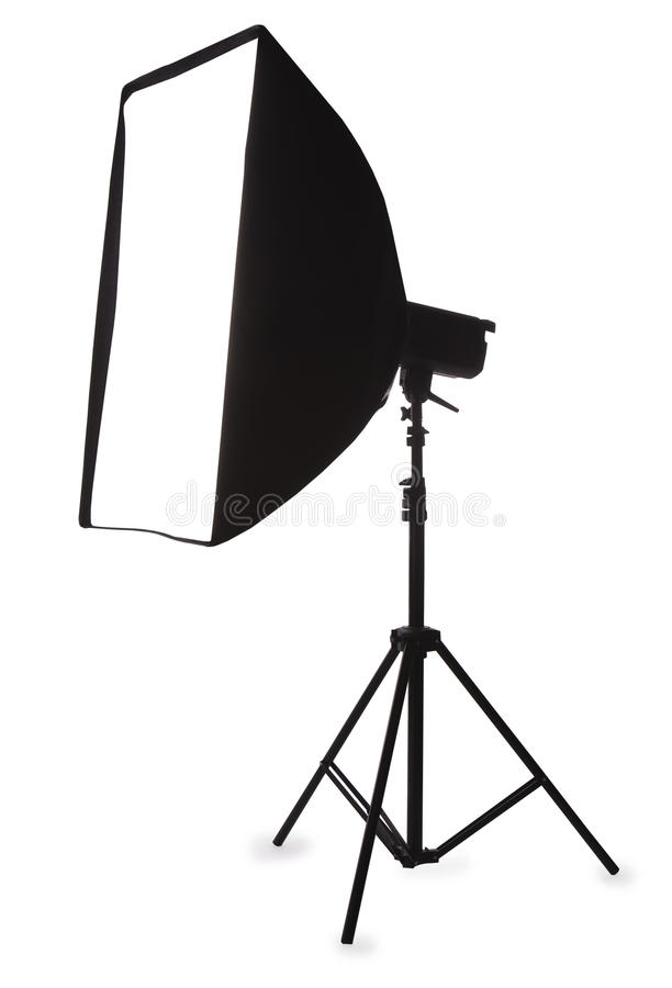 Download Studio Strobe With Softbox Stock Images - Image: 17143234