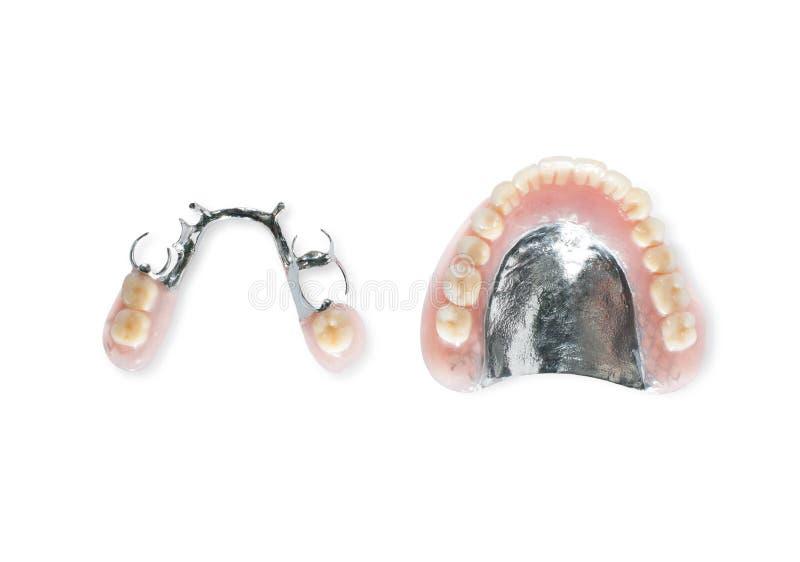 Studio tiré des dentiers image libre de droits