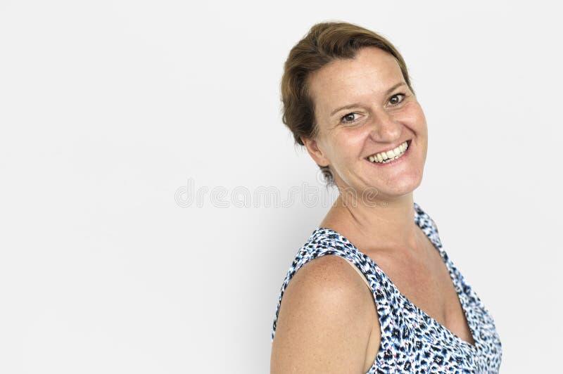 Studio-Trieb-Porträt-Leute-Rennkonzept lizenzfreies stockfoto