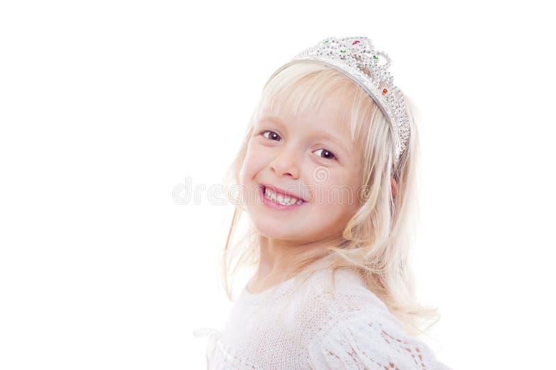 Studioabbildung des schönen kleinen Mädchens lizenzfreie stockfotos