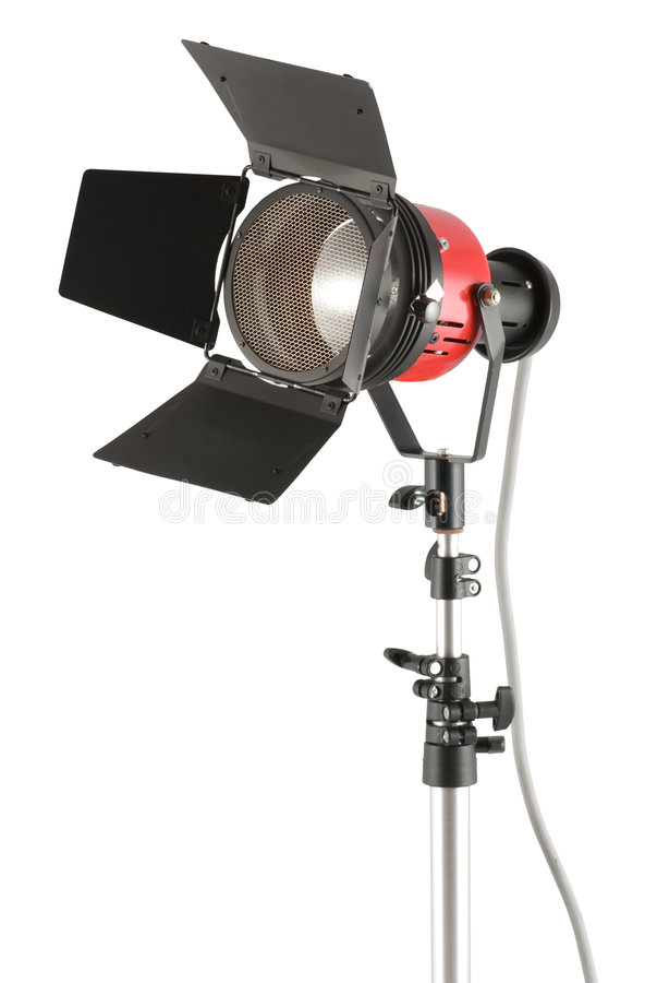 Studiolampe lizenzfreies stockbild