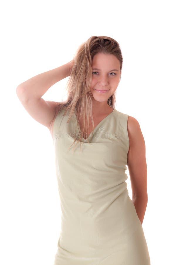 Studioporträt eines Mädchens lizenzfreie stockbilder
