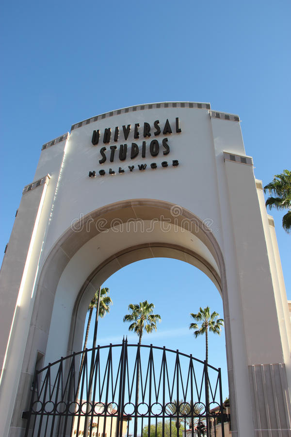 Studios universels Hollywood photographie stock