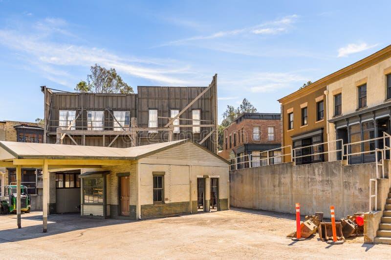 Studios universels Hollywood Park, Los Angeles, Etats-Unis photos libres de droits
