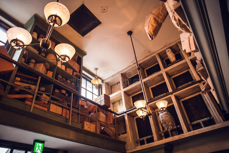 Studios universels Japon photo stock