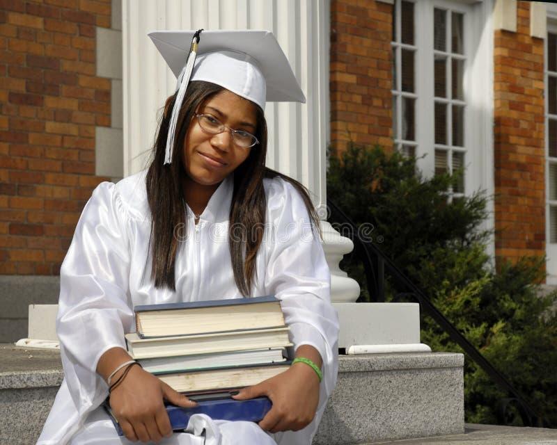 Studious Graduate Royalty Free Stock Photos