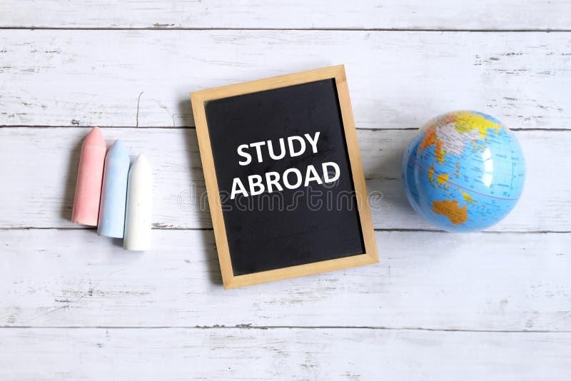Study abroad stock photo