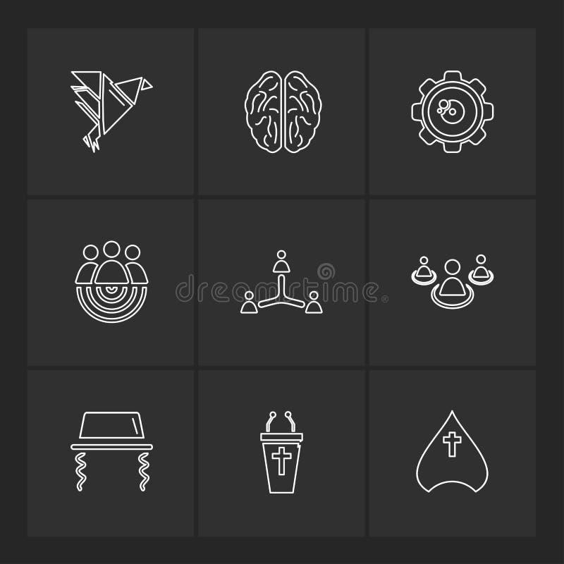 Study , calculator, video , user , networking , religion , eps. Study , calculator, video , user , networking , religion , paint , art , directory , folder stock illustration