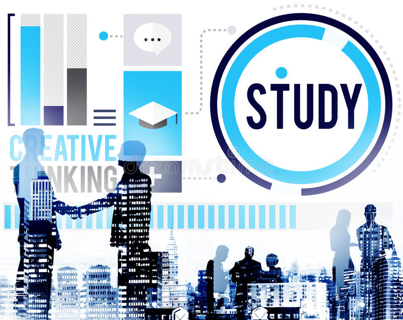 Study Education Knowledge Wisdom Learning Concept.  royalty free stock photos