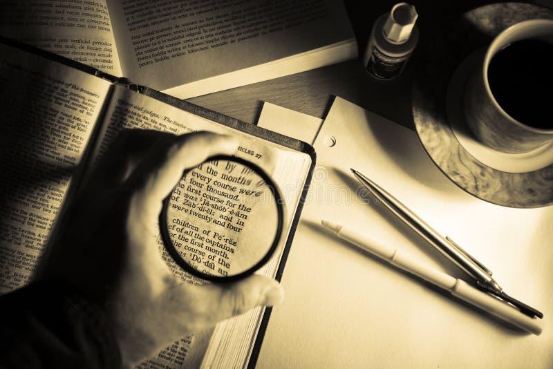 study för 3 bibel arkivbilder
