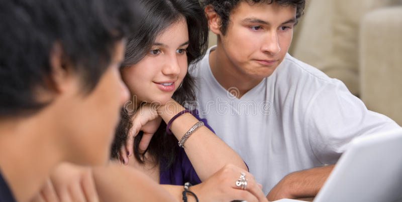 Download Study group stock photo. Image of girl, group, laptop - 9460642