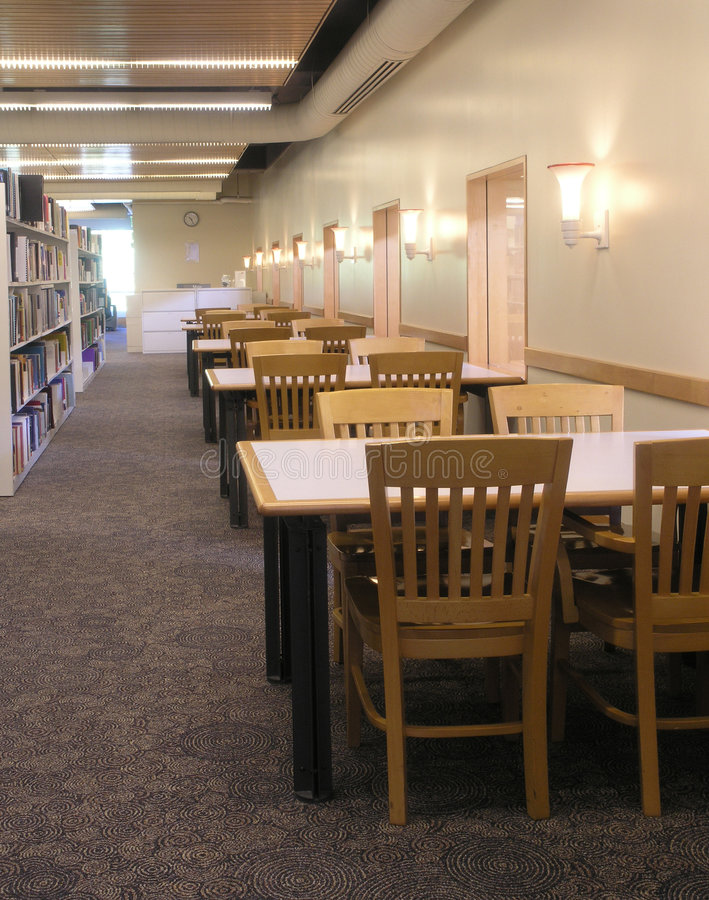Download Study Tables stock image. Image of public, knowledge, study - 230585