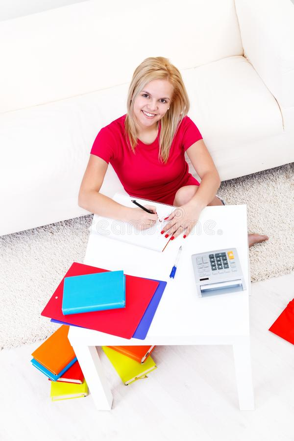 Download Study time stock photo. Image of student, knowledge, floor - 27591230