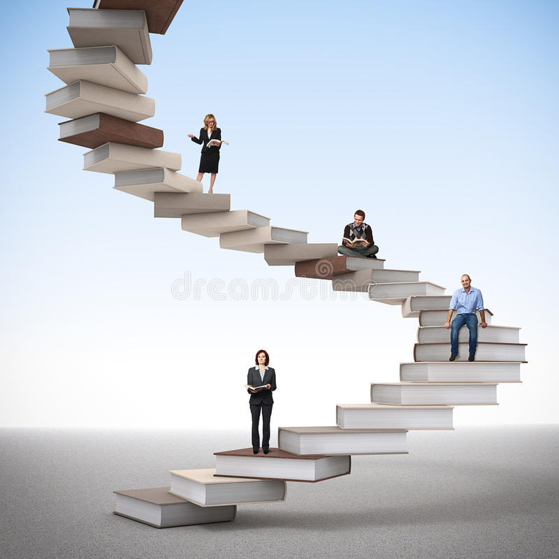 Download Study way stock illustration. Image of modern, active - 24925244