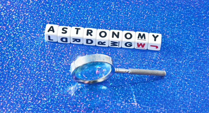 Download Studying astronomy stock photo. Image of black, dotted - 51210546