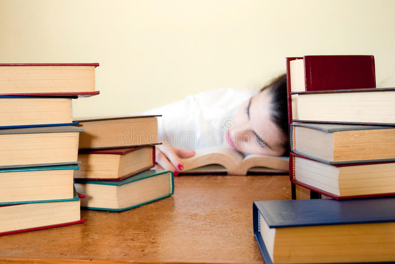 Download Studying Hard stock photo. Image of young, tired, exam - 30587390