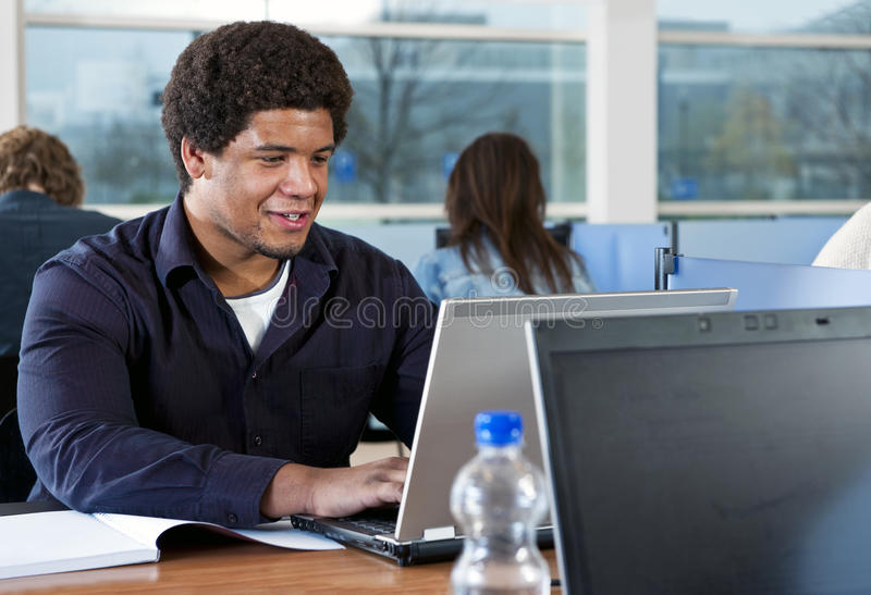 Download Studying In The Library Stock Photos - Image: 22105983