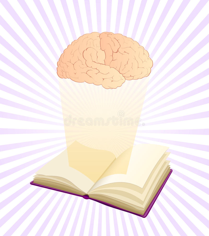 Download Studying makes smart stock vector. Illustration of mind - 14854137