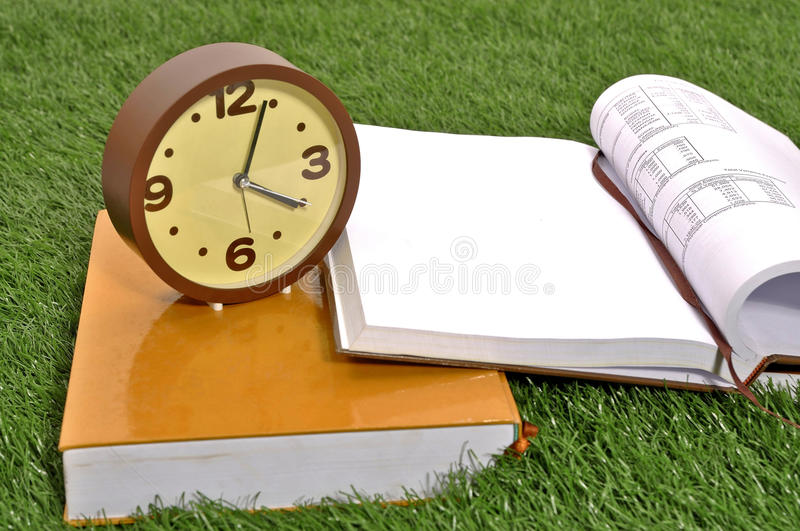 Download Studying Outdoor stock image. Image of education, hour - 26370637