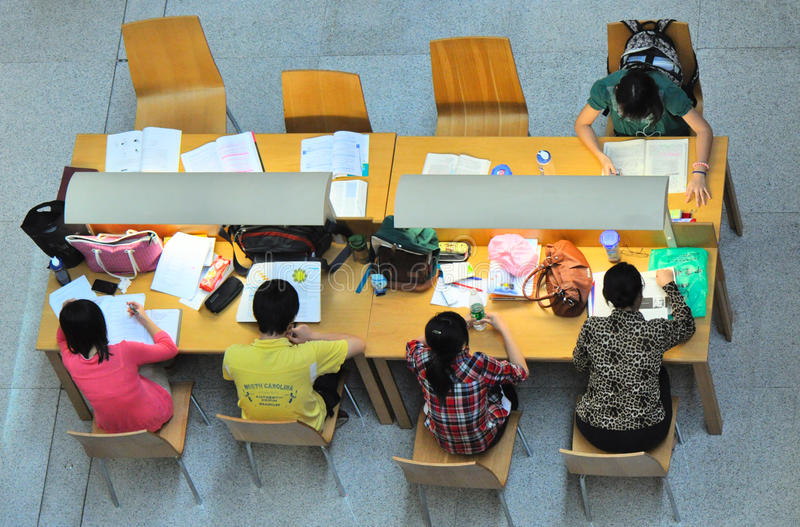 Download Studying Together Editorial Stock Image - Image: 21288714
