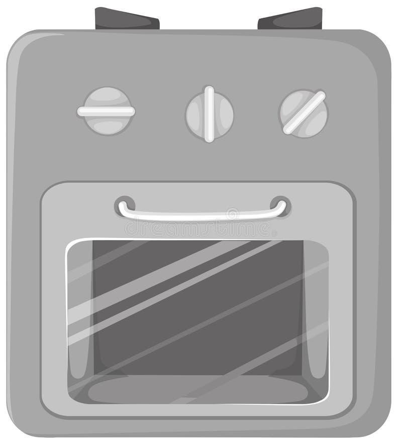 Stufa di cucina illustrazione vettoriale
