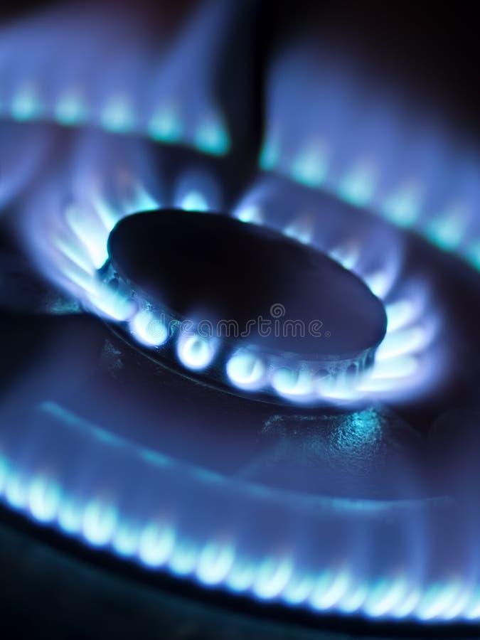 Stufa di gas fotografia stock