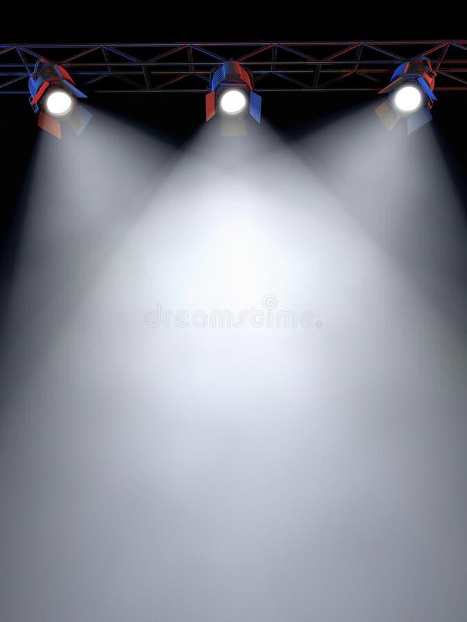 Stufe-Leuchten lizenzfreie abbildung