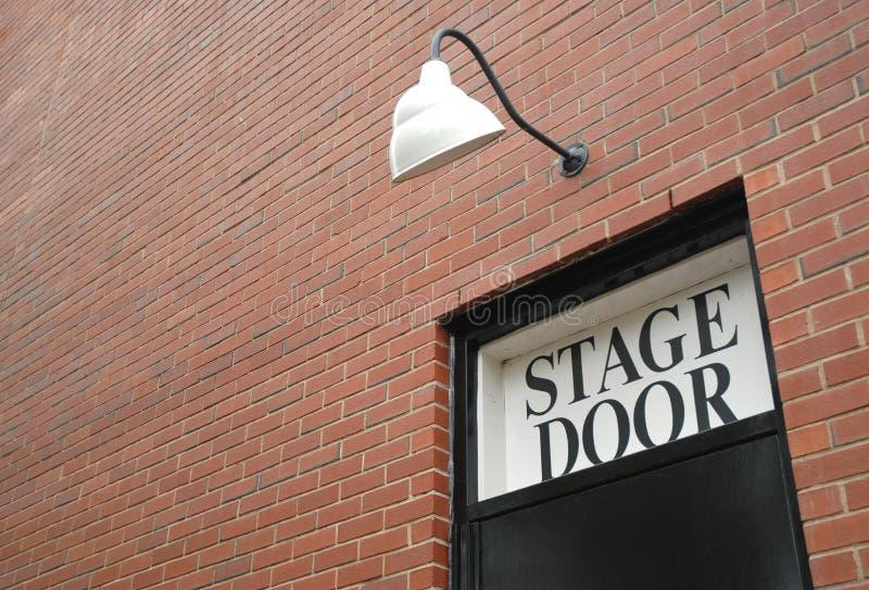Stufe-Tür lizenzfreie stockfotografie